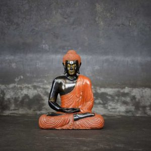 sitting buddha colorfull