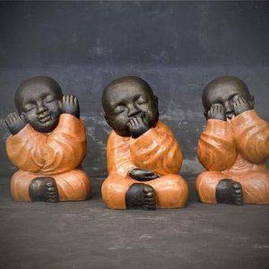 Buddha Deaf, Blind, Mute