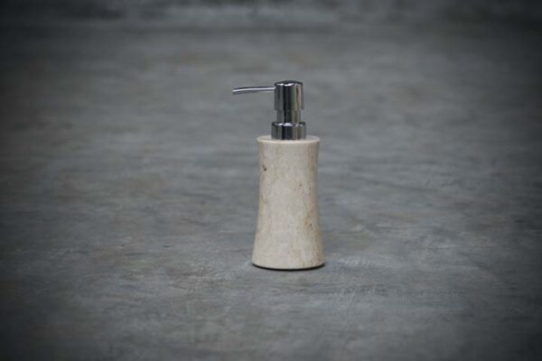 slim cylindric soap dispenser