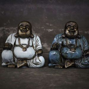 laughing sitting buddha