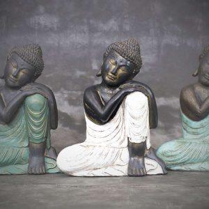 lazy buddha statue