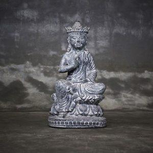 sitting buddha abhaya pose