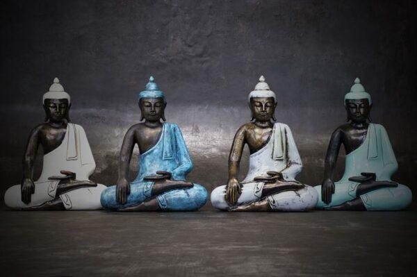 BD172 Buddha Hand on Knee