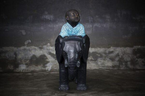Buddha on elephant