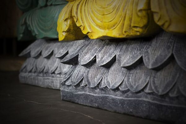 sitting crowned buddha
