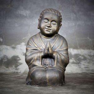 sitting curly buddha