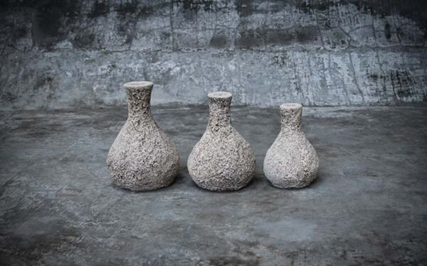 Terracotta Vases Set of 3