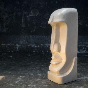 easter island head statue