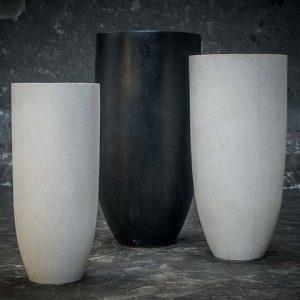 elonganted vase