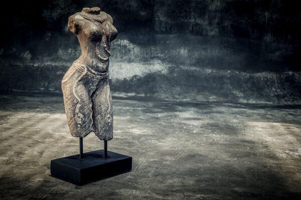 female torso on stand