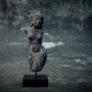 hindu female torso on stand