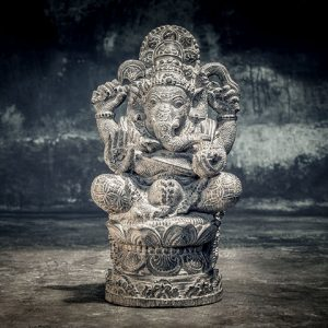 ganesha on pedestal