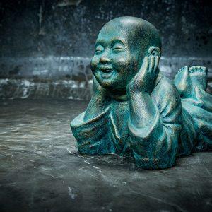 Stonework Asia Shaolin Buddha