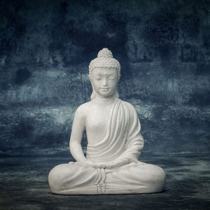sitting teenage buddha