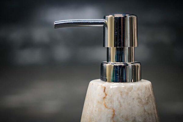 oval soap dispenser