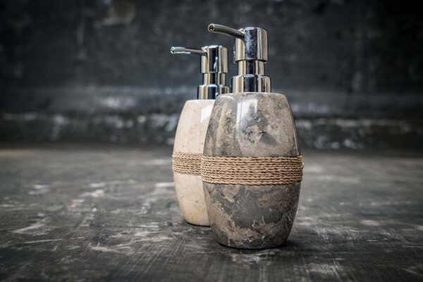 oval soap dispenser