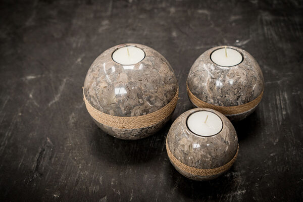 marble candel holder