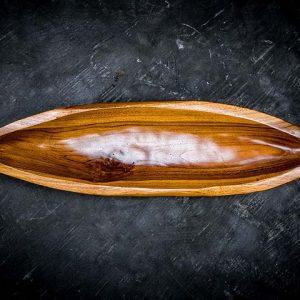 boat shaped tray
