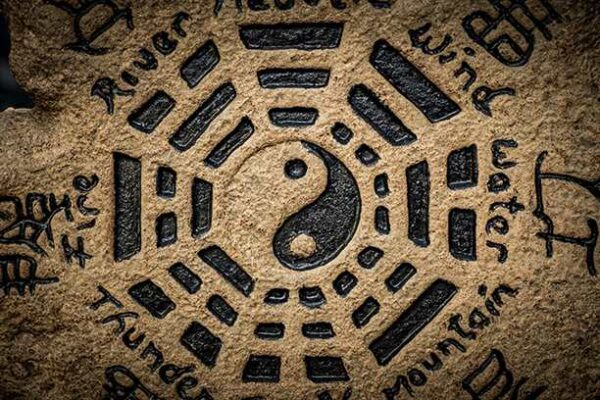 yin yang sculpture