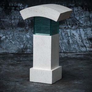Modern Terrazzo Garden Lamp