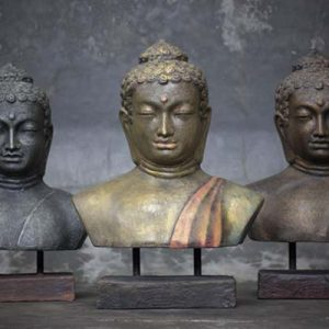 Head Buddha on Stand Colors