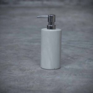 Polished Green Zeolite Soap Dispenser