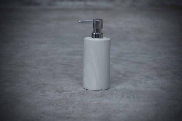 Polished Green Zeolite Soap Dispenser