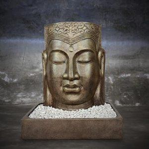 Water Fountain Face Buddha
