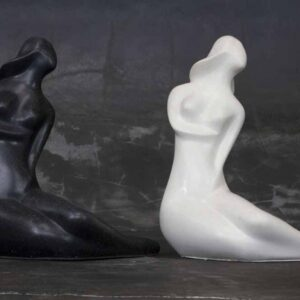 Abstract woman statue