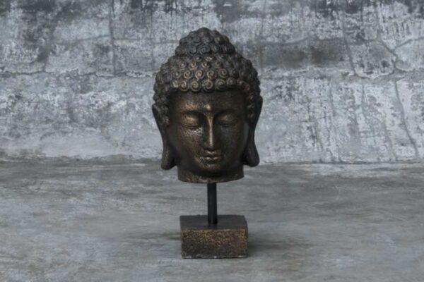 Buddha Head on Stand BD145