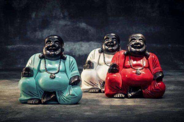 chubby Buddha with bowl