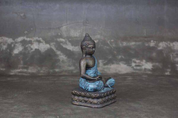 Sitting Buddha folded hands blueSittingSitting Buddha dhyana hands blue Buddha folded hands