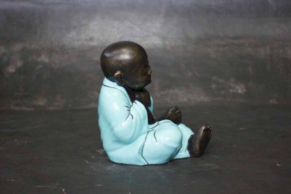 Sleeping chubby Buddha
