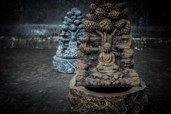 Buddha under tree details