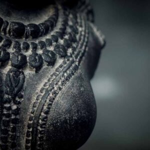 female hindu torso with stand details chest