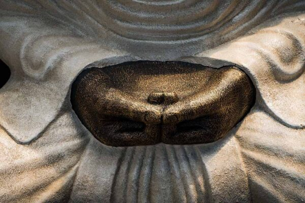 Giant Buddha hands details