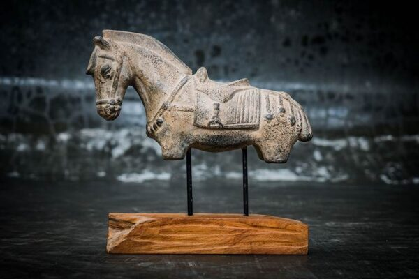 Horse with Stand