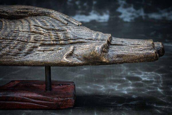 lying buddha closed eyed details leg