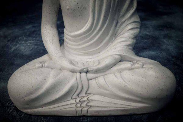 Juvenile Buddha details crutch