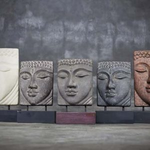 Head Buddha Table Relief