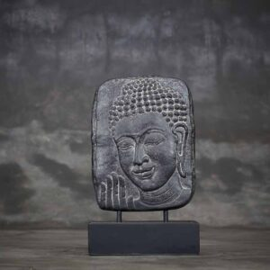 Buddha Face Table Relief