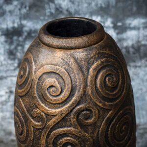 Easter island head vase