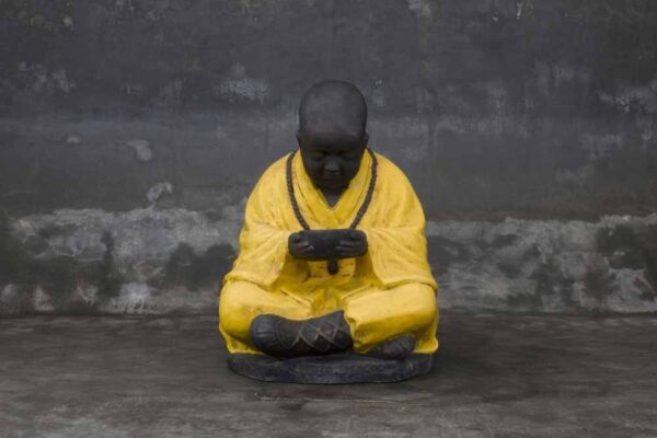 shaolin with candle