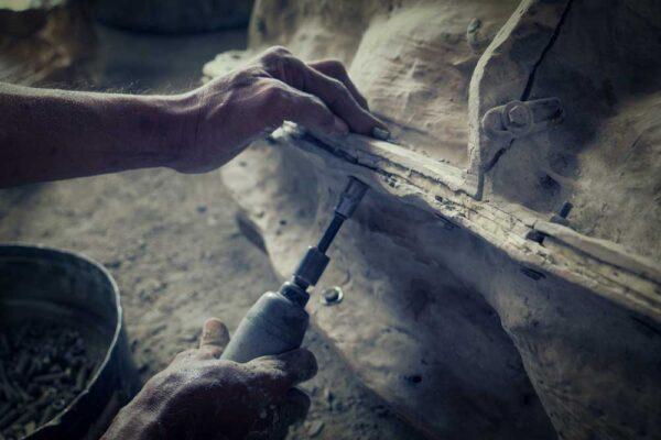 Stonework Casting Process
