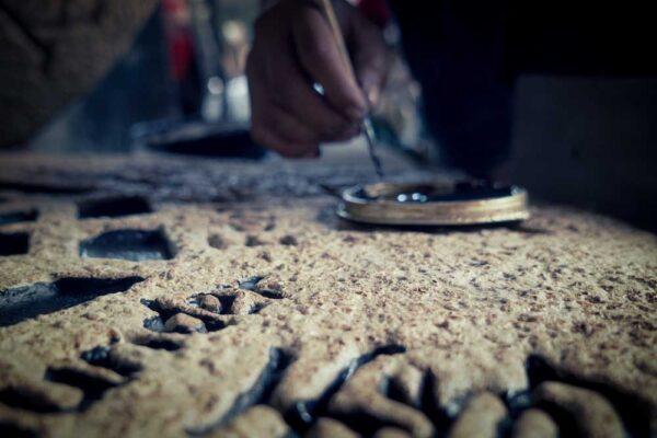 Stonework Painting Details